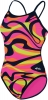 Dolfin Reversible Vortex Orange/Pink String Back Female