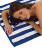 Terry Town Cabana Stripe Loop Beach Towel