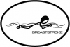 BaySix Breaststroke Stick Figure Decal