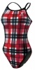 Tyr Belmont Plaid Diamondback with Piping Female