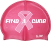 1Line Sports Find A Cure Swim Silicone Swim Cap
