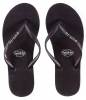 Pull-In Black Slaps Sandals Female
