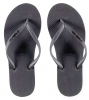 Pull-In Grey Slaps Sandals Female Clearance