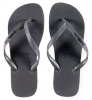 Pull-In Grey Slaps Sandals Male