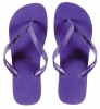 Pull-In Purple Slaps Sandals Male