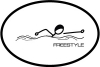 BaySix Freestyle Stick Figure Magnet