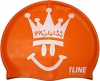 1Line Sports Happy Princess Silicone Swim Cap