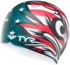 Tyr Patriot Silicone Swim Cap