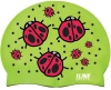 1Line Sports Ladybugs Silicone Swim Cap