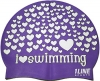 1Line Sports Love Swimming Silicone Swim Cap