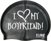 1Line Sports My Boyfriend Silicone Swim Cap
