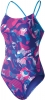 Nike Floral Camo Poly Blend Cut-out Tank Female