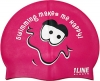 1Line Sports Me Happy Silicone Swim Cap