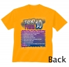 Image Sport Swim Top Ten Tee Orange