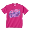 Image Sport Swim Like a Girl Tee Pink