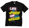 Image Sport Swim Life Is Better Tee Black