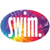 BaySix Swim. Tie Dye Decal