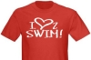 1Line Sports Love 2 Swim T-Shirt Clearance