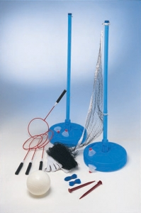 Water Gear Across Pool Volleyball/Badminton Set