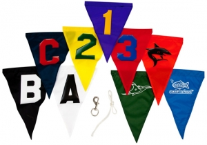 Custom Backstroke Flags