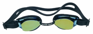 Water Gear Metallic Racer Anti-Fog Swim Goggles