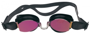 Water Gear Metallic No-Leak Swim Goggles