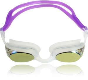 Water Gear Metallic Cuda Swim Goggles