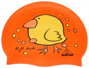 Water Gear H2O Chick Silicone Swim Cap