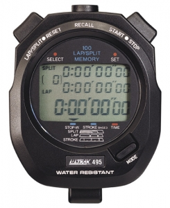 Ultrak 100 Lap Memory Stopwatch