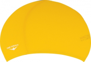 The Finals Solid Lycra Swim Cap