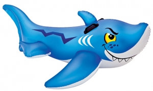 Wet Products Friendly Shark Ride-On