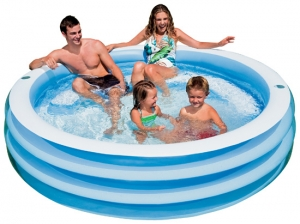 Wet Products Swim Center Blue Round Pool
