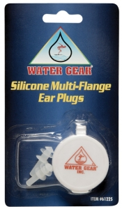 Water Gear Silicone Multi-Flange Ear Plugs