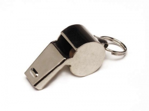 Water Gear Metal Whistle