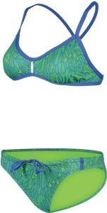 Dolfin Bellas Carnivale Green Bikini Female