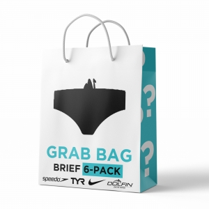 Grab Bag Brief 6 Pack Male