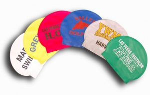 Grab Bag Latex Swim Cap