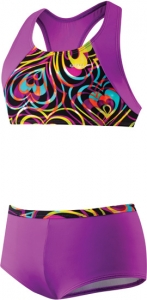 Speedo Summer Love Boyshort Two Piece Suit Girls