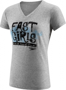 Speedo Fast Girls Tee Female