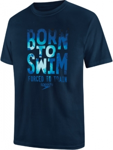 Speedo Born To Swim Tee Male