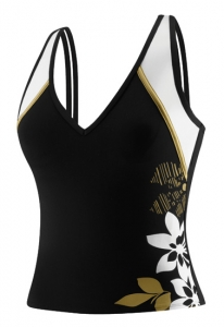 Speedo Gilded Floral Splice Tankini Top Female