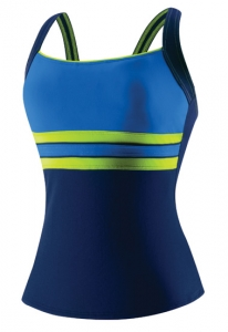 Speedo Horizon Splice Ultraback Tankini Top Female