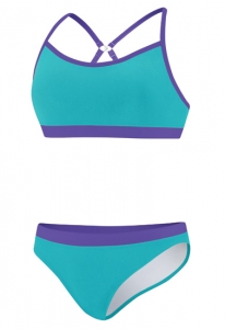 Speedo Clipback Logo 2pc Female