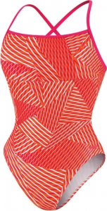Speedo Print Cross Back 1pc Female