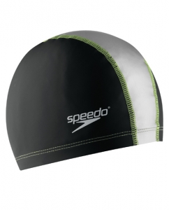 Image of Speedo Stretch Fit Silicone Swim Cap