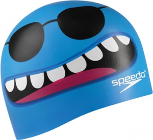 Speedo Critter Creeps 2 Silicone Junior Cap Blue
