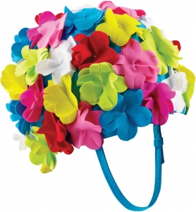 Speedo Flower Swim Cap