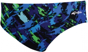 Dolfin Rondo Chloroban Print Brief Male