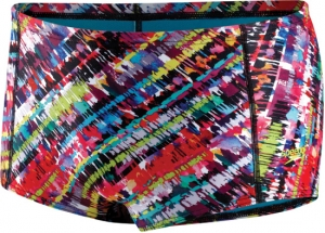 Speedo Flipturns Electro Stripe Drag Brief Male