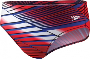 Speedo Variegated Lanes PowerPLUS Brief Male